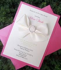 baby shower invitation pink shower
