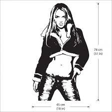 Britney Spears 1 Vinyl Wall Art Decal