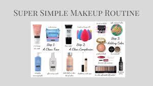 super simple makeup routine sarah e