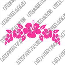 Large Vinyl Flower Wall Decals For Nails Boxes Sheds Design Bed Edging Vases Backdrop Vw Beetle Vamosrayos