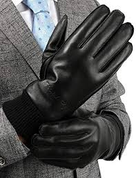 from usa leather gloves for men wi end