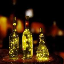 Dây đèn led 8 bóng trang trí chai rượu đẹp mắt giảm chỉ còn 26,100 đ