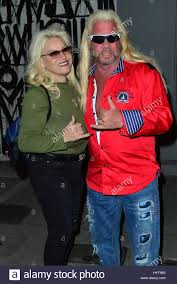 Dog The Bounty Hunter And WIfe Beth Smith Having Dinner At Craig's Stock  Photo - Alamy