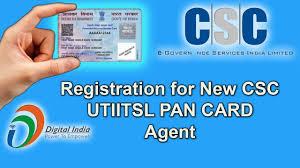utiitsl pan card registration for new