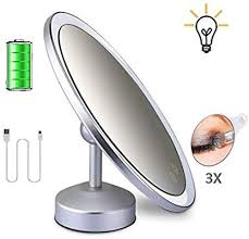 wall mounted makeup mirror suction with
