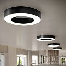 silver ring ceiling and wall light