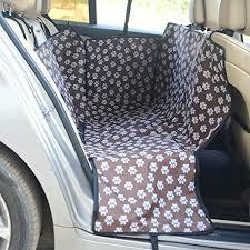 honcenmax waterproof dog car seat cover