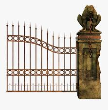 Graveyard Gates Png Free Transparent Clipart Clipartkey