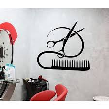 Vinyl Decal Barber Tools Wall Sticker From Wallstickers4you I