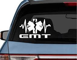 Amazon Com Stickerloaf Brand Emt Ekg Star Of Life Paramedic Car Truck Laptop Decal Sticker Decals Sticker Emt Ems Heart Qrs Complex Firemedic Firefighter Flight Medic Emt Ems Rn Lpn Cna Nurse Rescue