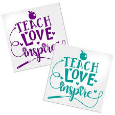 Teacher Decals For Cups Cars Or Laptops Decals By Adavis