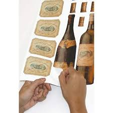 Roommates 18 In X 40 In Wine Tasting 56 Piece Peel And Stick Wall Decals Rmk1257scs The Home Depot