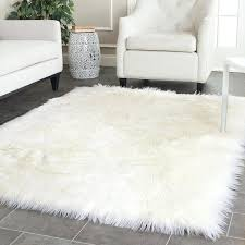 faux sheepskin rug super soft silky