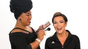 kris jenner makeup tutorial