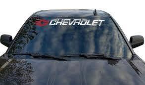 Chevrolet Window Decal Chevy Windshield Sticker Tahoe Vinyl Etsy