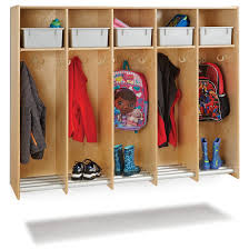 All Hanging Lockers With Tube Shoe Rack By Jonti Craft Options Preschool Daycare Furniture Worthington Direct