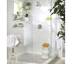 sus glass shelf white subway tile