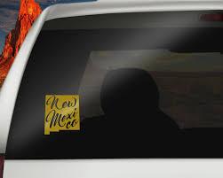 New Mexico Car Decal Removable Vinyl Car Decals Of New Mexico State Car Decals Vinyl Car Decals Car