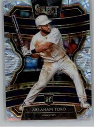 Amazon.com: 2020 Select Scope Baseball #6 Abraham Toro Houston Astros  Common Rookie Parallel Level Official MLB PA Trading Card Parallel From  Panini America: Collectibles & Fine Art