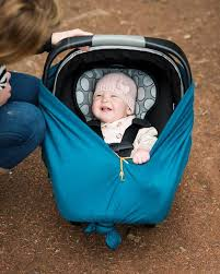 diy comfy baby car seat cover for a