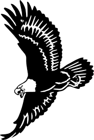 Soaring Eagle Vinyl Decal Animal Silhouette Eagle Images Pictures To Draw