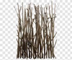 Clip Art Twig Wood Branch Fence Wandelhalle Transparent Png