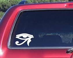 Eyes Of Horus Decal Sticker Car Truck Windows Laptops Funny Car Decals Car Stickers Car Decals Stickers