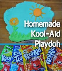 homemade kool aid playdoh recipe