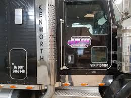 Truck Decals With Vinyl Letters And Numbers Graphics Plus