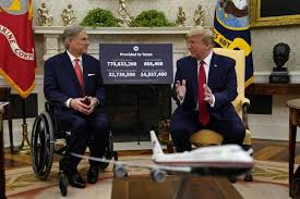 Gov. Greg Abbott's White House whirlwind: praise from Trump, jeers for foes  — and COVID germs? - Beaumont Enterprise