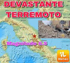 Terremoto / dopo la fortissima SCOSSA di 6.5° richter si contano i ...