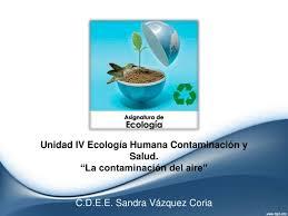 ppt unidad iv ecología humana