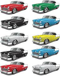 Retro Car Chevrolet Ceramic Decals Enamel Decal Fusible Decal Glass Fusing Decal Waterslide Decal 96407449 Xpression Decals