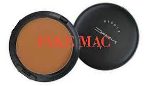 fake vs real mac powder you