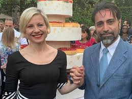 Antonella Elia sposa Pietro delle Piane