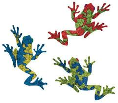 Amazon Com My Wonderful Walls Tree Frog Wall Stickers Red Blue Green Set Of 3 Home Kitchen