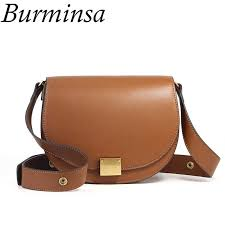 genuine leather bags wide strap