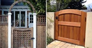 17 Wooden Gate Designs Oozing With Appeal Top House Designs