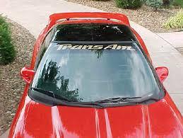 Trans Am Windshield Stickers Ls1tech Camaro And Firebird Forum Discussion