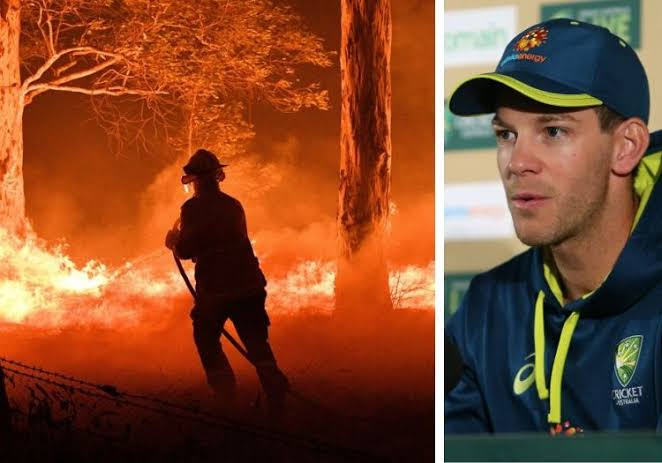 Image result for australia fire cricket players