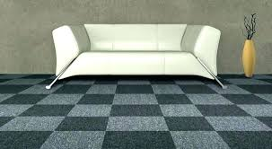 carpet tiles with padding can go over