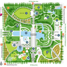 map myriad botanical gardens