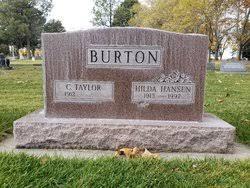 Hilda Abby Hansen Burton (1913-1997) - Find A Grave Memorial