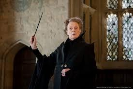 Maggie Smith As Professor Minerva Mcgonagall Harry Potter 照片从 ...