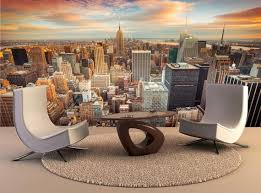 New York City Wall Mural Wall Decal Removable Wall Wallpaper Etsy