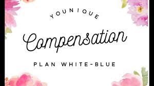 younique pensation plan white blue