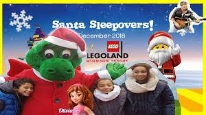 legoland windsor santa sleepover vlogs