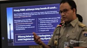 Daftar Lengkap Aturan PSBB Total DKI Jakarta: 11 Usaha yang Boleh Tetap  Buka hingga Sanksi - Tribunnews.com Mobile