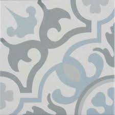 8x8 wall 4 blue tile flooring