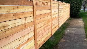 Western Red Cedar Fence Panels Bob Doyle Home Inspiration How To Build A Horizontal Fence Plans